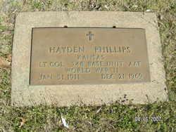 LTC Hayden Phillips