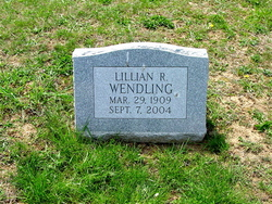 Lillian R <i>Franklin</i> Wendling