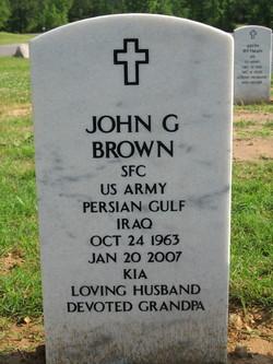 Sgt John Gary Brown