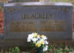 Henry T Blackley