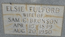 Elsie <i>Fulford</i> Brunson