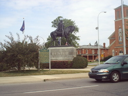 George Armstrong Custer Monument