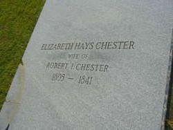 Elizabeth <i>Hays</i> Chester