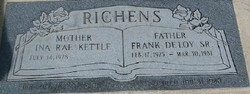 Frank DeLoy Richens, Sr