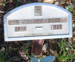 Mary Anne <i>Smith</i> Wren