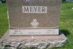Ida Anna <i>Hensen</i> Meyer