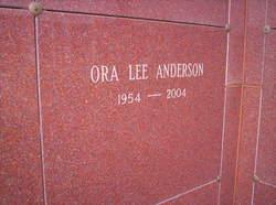 Ora Lee <i>Banks</i> Anderson