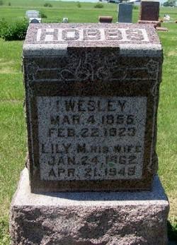 Isaac Wesley Wes Hobbs