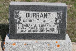 Sarah Jane <i>Norwood</i> Durrant