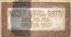Archie Arvill Batty
