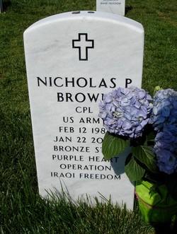 Corp Nicholas P. Brown