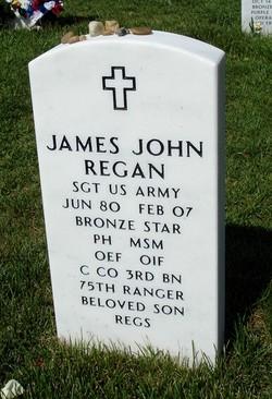Sgt James John Regan