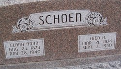 Frederick August Schoen