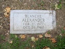 Blanche <i>Alexander</i> Alexander