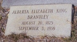Alberta Elizabeth <i>King</i> Brantley