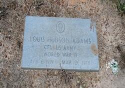 Corp Louis Hudson Adams