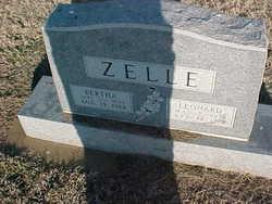 Bertha <i>Lubbers</i> Zelle
