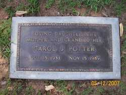 Carol Juanita <i>Mathis</i> Potter
