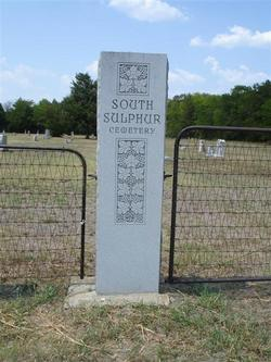 South Sulphur Cemetery