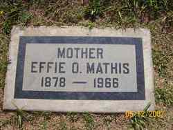 Effie Ozetta <i>Neal</i> Mathis