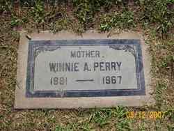 Winifred Winnie <i>Adams</i> Perry