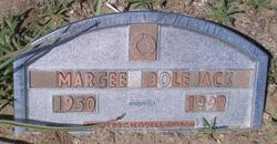 Margaret Susan Margee <i>Palmer</i> Bolejack