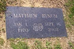Matthew Bynum