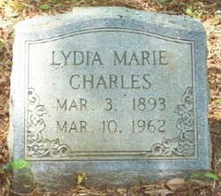Lydia Marie <i>Larsen</i> Charles