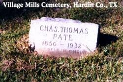 Charles Thomas Ct Pate