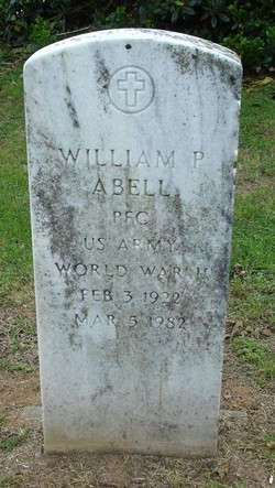 PFC William P. Abell