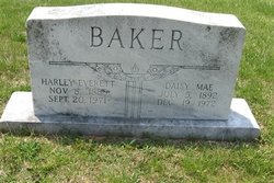 Daisy Mae <i>Kaylor</i> Baker