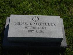 Mildred K. Barrett