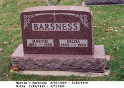 Hilda <i>Braaten</i> Barsness