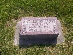 Katherine Janet Walters