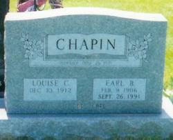Earl Brown Chapin