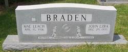 Mae <i>Leach</i> Braden