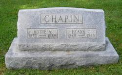 Addie A <i>Oakes</i> Chapin
