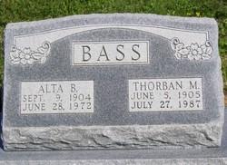 Clara Alta <i>Bradford</i> Bass