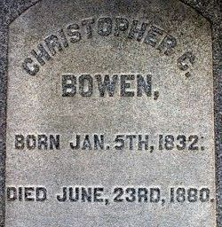 Christopher Columbus Bowen