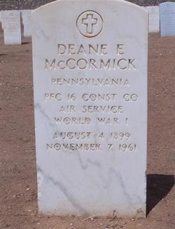 Deane Everdon McCormick