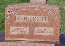 Palestine Rosaltha Altha <i>Hunt</i> Albright