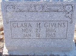 Clara H Givens