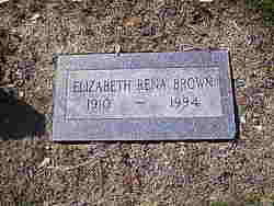 Elizabeth Rena Brown