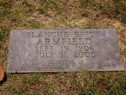 Blanche Britt Armfield