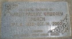 Karen Pauline <i>Vawdrey</i> Church