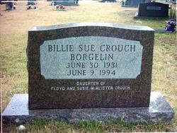 Billie Susan Billie Sue <i>Crouch</i> Borgelin