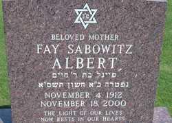 Fay <i>Sabowitz</i> Albert