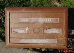 Mary Elizabeth <i>Hudson</i> Thorpe