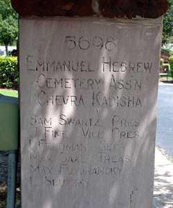Emanuel Memorial Garden