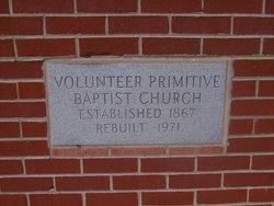 Volunteer Primitive Baptist Church Cemetery
